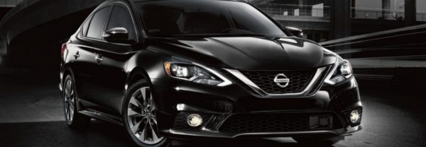 Black 2018 Nissan Sentra