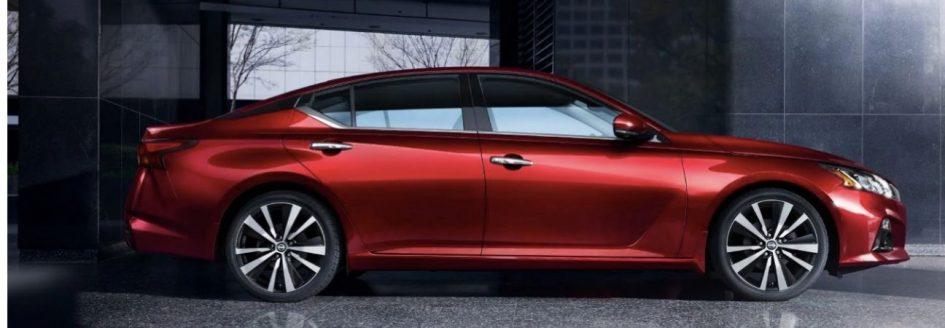 Red Sedan Nissan Altima